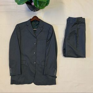 Burberry Nordstrom Gray Suit Jacket with Pants